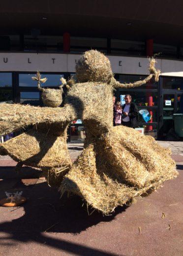 sculpture sur paille printemps de la ravoire 2017