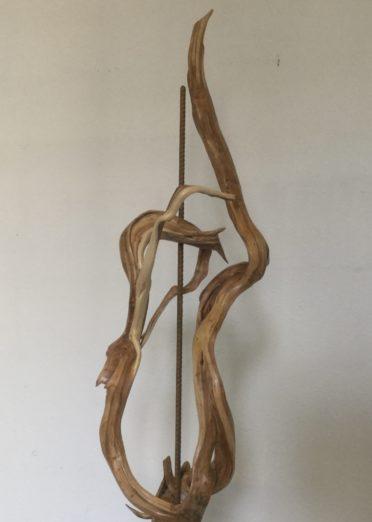 Journee nationale de l'architecture sculpture andré marastoni sur bois